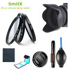 46mm Filter kit CPL ND UV / Lens hood / Cap / cleaning pen for Camera and lens
