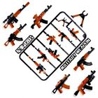 Compatible With Military Swat Guns Weapon Set Pack City Team Police Soldiers LoT