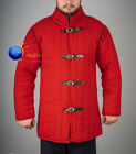 Medieval thick padded Costumes Gambeson Aketon shirt under armor dress sca gear