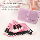 32Pcs Professional Makeup Brushes Set Eyeshadow Lip Powder Blusher Cosmetics Kit