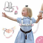 Anti-lost Strap Wrist Link Hand Harness+Wristband  Rop with Key Lock For Kids