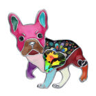 Enamel Alloy French Bulldog Pug Dog Brooch Pin Jewelry For Women Suit Gift Charm image