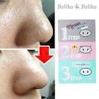 [HOLIKA HOLIKA] Pig-nose Clear Black Head EASY 3 Step Kit Korea Face Mask UK