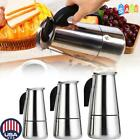 Stainless Steel Moka Espresso Coffee Maker Percolator Stove Top Pot Tool