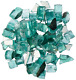 Dragon Glass 1/2 10 lb. Green Reflective Fire Glass