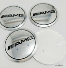 56.5MM Affalterbach 4pc AMG apple tree Wheel Center Hub Cap Emblem Badge Sticker