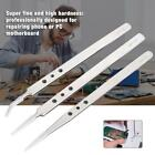 Stainless Steel Precision Hard Tweezer Tool For Mobile Phone Mainboard Repairing