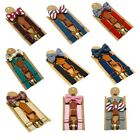 Braces Suspender and Cute Bow Tie Set for Baby Toddler Children Kid Boy Girl New