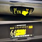 2002 California License Plates for sale and trade and display at