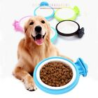 Pet Dog Puppy Hanging Food Water Cage Crate Mount Bowl Feeder Dispenser Durable