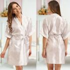 Nine X Unique Patterned Wedding Robe Dressing Gown Floral Bridesmaid Alice White