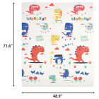 Reversible Baby Play Mat Large Non-Toxic Foam Floor Puzzle Mat for Kids 71  48