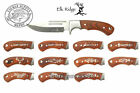 Fishing Hunting Knife Custom Engraved Gift Elk Ridge ER-052 White Fill - Pick