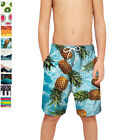 Boys Teens Swim Trunks Quick Dry Beach Swim Shorts with Mesh Liner Bathing Suits