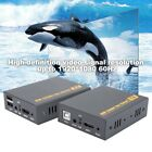 HDMI 1080P Extender 120M Over Cat5E/6 Lan Ethernet Cable Support Keyboard Mouse