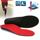 Flat Foot Orthopedic Insole Shoe Inserts Pad Arch Support Correction Pain Relief