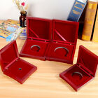 10-75mm Wooden Single Coin Display Storage Case Coin Collecting Box For Coins Me