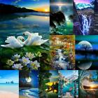 DIY Full Drill 5D Square Diamond Painting Scenery Cross Stitch Kits Home Decor