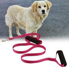 Pet Dog Leashes Double Handle Pulling Rope for Outdoor Running Jogging