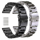 18 20 22 23 24 25mm Stainless Steel Watch Band Strap For Invicta Men's Watch  image