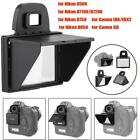 LCD Screen Protector Pop-up Camera Sun Shade Hood Cover for Nikon Canon Camera
