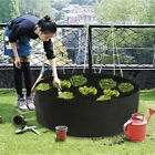 Fabric Raised Garden Bed 15/50/100Gallons Planting Grow Bag Planter Nursery Pot、