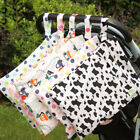 Baby Stroller Nappy Wet Bag Washable Reusable Baby Diaper Carry Storage Pouch