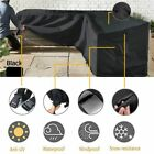 L Shape Corner Outdoor Sofa Rattan Patio Garden Waterproof Furniture Cover Xx