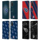 OFFICIAL NFL 2017/18 TENNESSEE TITANS LEATHER BOOK CASE FOR SAMSUNG PHONES 1 $19.95 USD on eBay