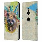 OFFICIAL DUIRWAIGH BOHO ANIMALS LEATHER BOOK WALLET CASE FOR SONY PHONES 1