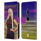 OFFICIAL WWE MARYSE LEATHER BOOK WALLET CASE FOR SONY PHONES 1