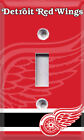 Hockey Detroit Red Wings Light Switch Plate Cover ~ Choose Your Cover ~ $12.99 USD on eBay