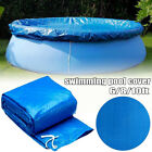 Внешний вид - Blue 6/8/10ft Round Swimming Paddling Pool Cover Inflatable Easy Fast Set Rope
