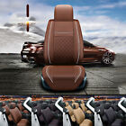 Universal 5-seats Car Seat Cover Chair Cushion PU Leather Protector 4 Colors UDW on eBay