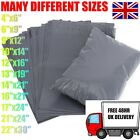 GREY MAILING BAGS PLASTIC STRONG POSTAGE POSTAL SELF SEAL FREE DELIVERY