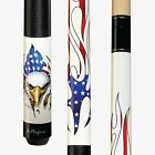 NEW Players D-PEG Patriotic White Eagle American Flag Billiards Pool Cue Stick $142.99 USD on eBay