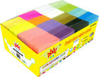 4A Sticky Notes Neon Assorted Small Size Self-stick Notes Office Supplies