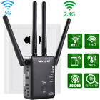 Wavlink 1200/300Mbps Wifi-Repeater Router Wireless Range Extender Signal Booster