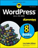 Sabin-Wilson Lisa-Wordpress All-In-One For Dummies (US IMPORT) BOOK NEW