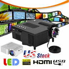 UC18 LCD LED 1080P HD Projector Mini Portable Support  Home Theater Cinema