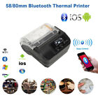 58/80mm Note Label Bill USB Bluetooth Thermal Printer for Android iOS Windows