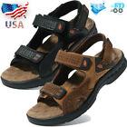 Men Summer Sports Open Toe Water Sandals Outdoor Leather Casual Hiking Shoes USA