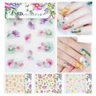 5D Self-Adhesive Nail Art Decoration Sticker Flower Series Manicure Decals Tool