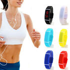 LED Digital Watch For Men Women Silicone Bracelet Sport Wrist Watches Outdoor image
