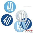 Blue 40th Birthday Party Decorations Supplies Boy Mens Balloons Banners etc