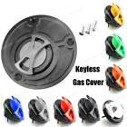 Keyless Engraved Twist Off Fuel Tank Cap Cover For Ducati 848 1198 S R All Year