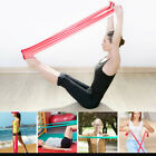 2m Elastic Yoga Pilates Stretch Resistance Band Fitness Exercise Workout Belt