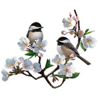 Cherry Blossom Chickadees Tshirt Sizes/Colors