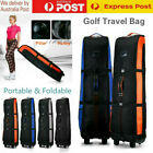 NEW Golf Bag Stand Air Travel Cover Fordable Large Flight Carry Bags Wheels