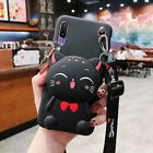 New Hot 3D Cute Toy Wallet Purse Strap stand Silicon Case Cover Skin For Phones